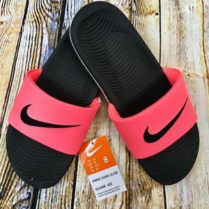 Nike Hyper Punch Black/White Kawa Slide Sandals